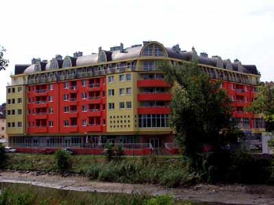 mieszkania, budynek ul. Jaracza, Wrocław